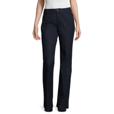 """St. John's Bay® Bi-Stretch Pants - Tall Inseam 34"""""""