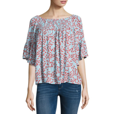 A.N.A Smock Neck Top - Tall