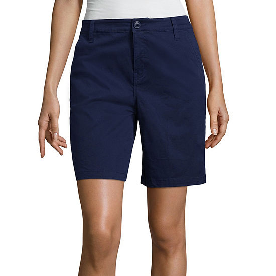 St. John's Bay Chino Short - Tall Inseam 8