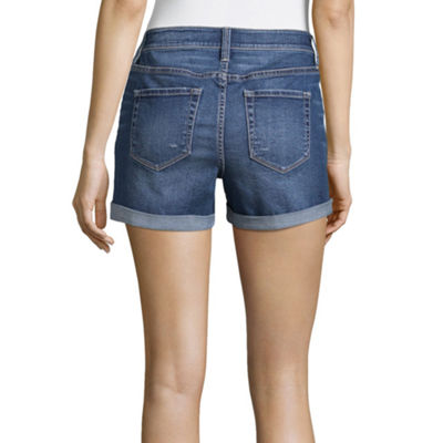 "a.n.a 4 1/4"" Denim Shorts-Tall"