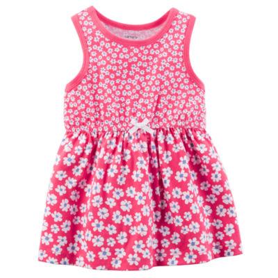 Carter's Sleeveless Fit & Flare Dress - Baby Girl NB-24M