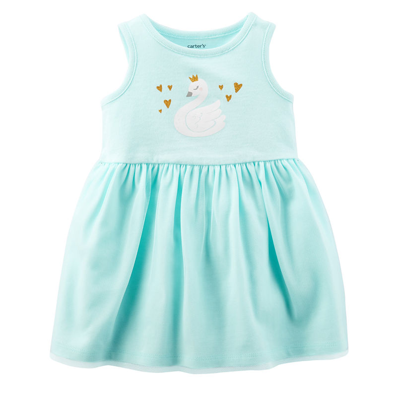 3ae131588 ... UPC 190796662251 product image for Carter's Sleeveless Fit & Flare Dress  - Baby Girls | upcitemdb ...