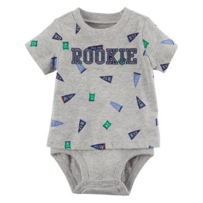Carter's Short Sleeve 2 Layer Bodysuit - Baby Boy