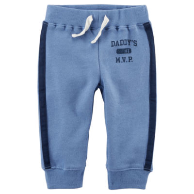 Carter's French Terry Jogger Pants - Baby BoysNB-24M