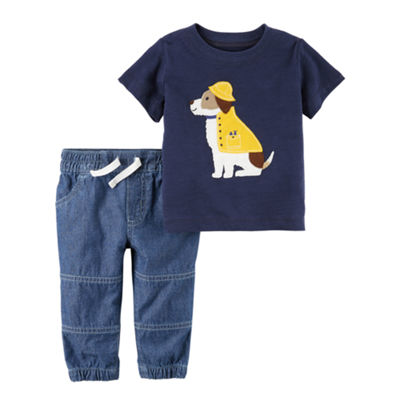 Carter's 2-pc.Pant Sets Baby Boys NB-24M