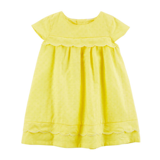 Carter's Short Sleeve Trapeze Dress - Baby Girls