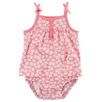 Carter's Sleeveless Romper - Baby Girls