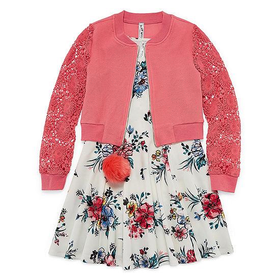Knit Works Girls Jacket Dress