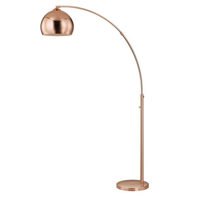 "TENBURY WELLS Alrigo 80"" LED Arched Floor Lamp With Dimmer"