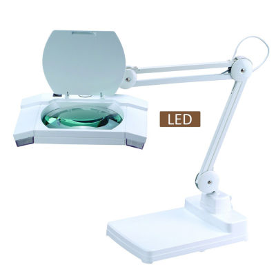 "TENBURY WELLS Multi-Function Full Spectrum LED Magnifying Task 31"" Desk Lamp"