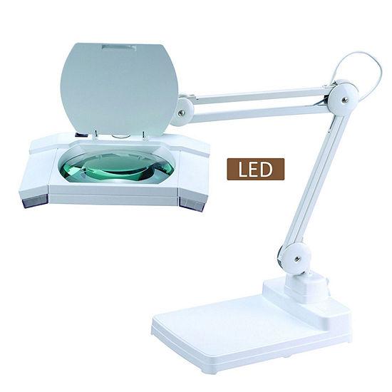 """TENBURY WELLS Multi-Function Full Spectrum LED Magnifying Task 31"""" Desk Lamp"""