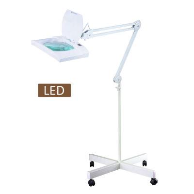 "TENBURY WELLS Multi-Function Full Spectrum LED Magnifying Task 60"" Floor Lamp"