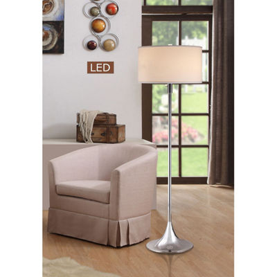 "TENBURY WELLS Florenza 63"" Dual Light LED Floor Lamp With Dimmer"