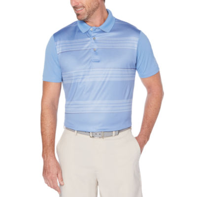 PGA TOUR Easy Care Short Sleeve Stripe Polo Shirt