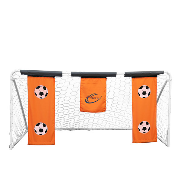 Skywalker Sports 9' Soccer Goal with Practice Banners