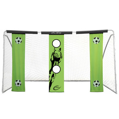 Skywalker Sports 12' Soccer Goal with Practice Banners