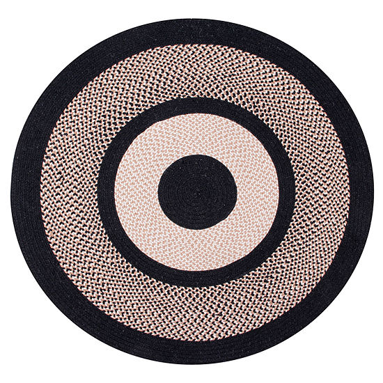 Better Trends Portland Braided Round Reversible Indoor Rugs