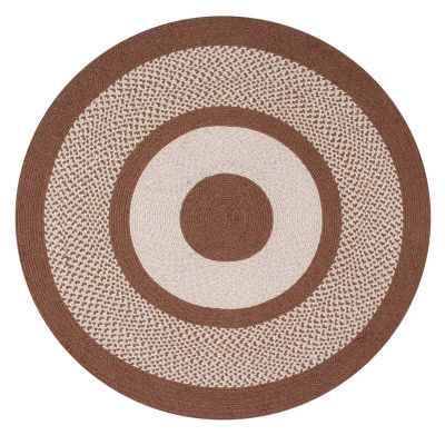 Better Trends Portland Braided Round Reversible Rugs