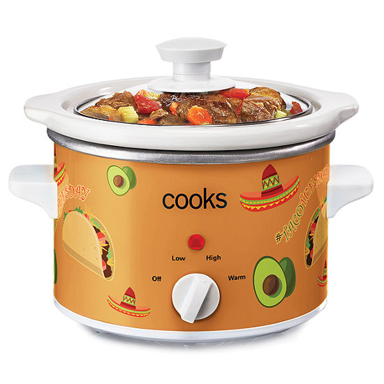 Cooks 1.5 Quart Taco Tuesday Slow Cooker