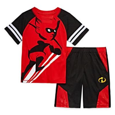 Disney Incredibles 2 Short Set Boys