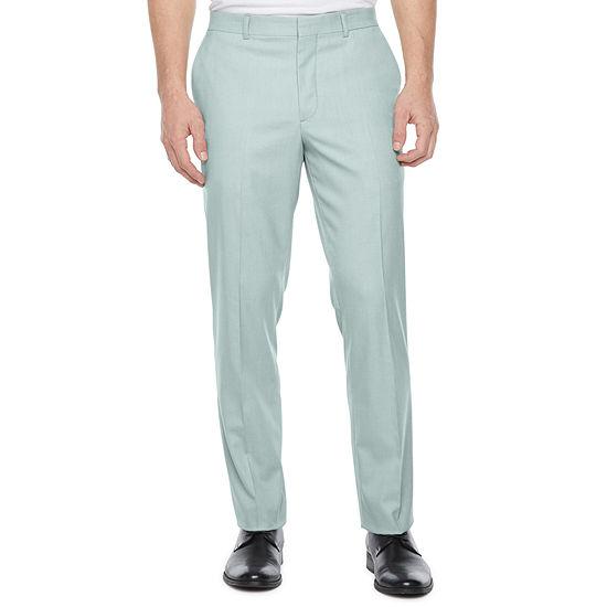JF J.Ferrar Ultra Comfort Mens Stretch Slim Fit Suit Pants