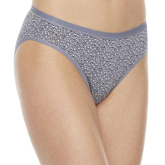 Ambrielle Organic Cotton Bikini Panty