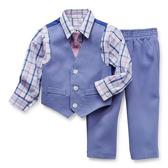 Van Heusen Baby Boys 4-pc. Suit Set