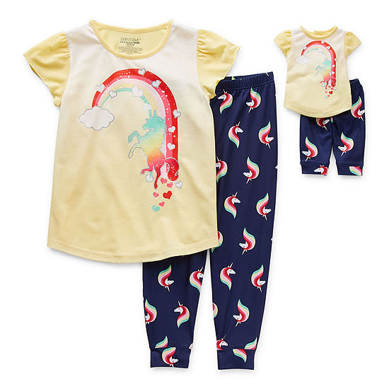 Little & Big Girls 2-pc. Pant Pajama Set