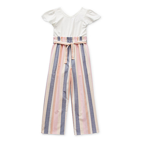 Trixxi Big Girls Short Sleeve Jumpsuit