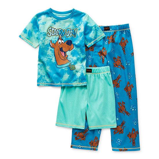 Little & Big Boys 3-pc. Scooby Doo Pajama Set