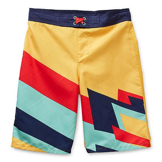 Arizona Little & Big Boys Geometric Board Shorts