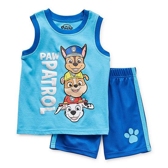 Nickelodeon Toddler Boys 2-pc. Paw Patrol Short Set