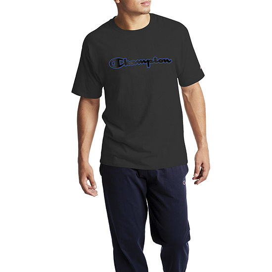 Champion Classic Graphic Mens Crew Neck Short Sleeve Graphic T-Shirt