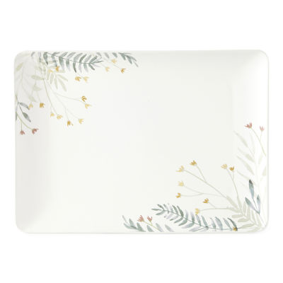 Linden Street Floral Serving Tray