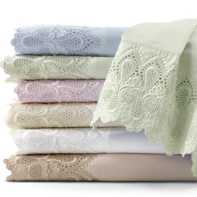 600tc Easy Care Lace Sheet Set