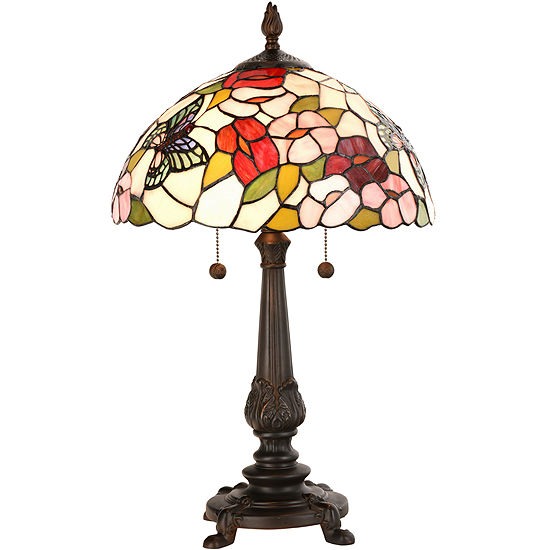 b28a9062d21a22 Dale Tiffany™ Butterfly Table Lamp