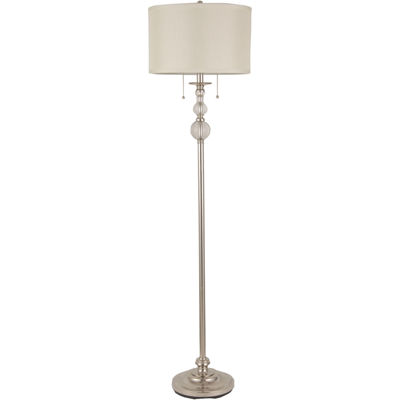 royal velvet optic crystal floor lamp