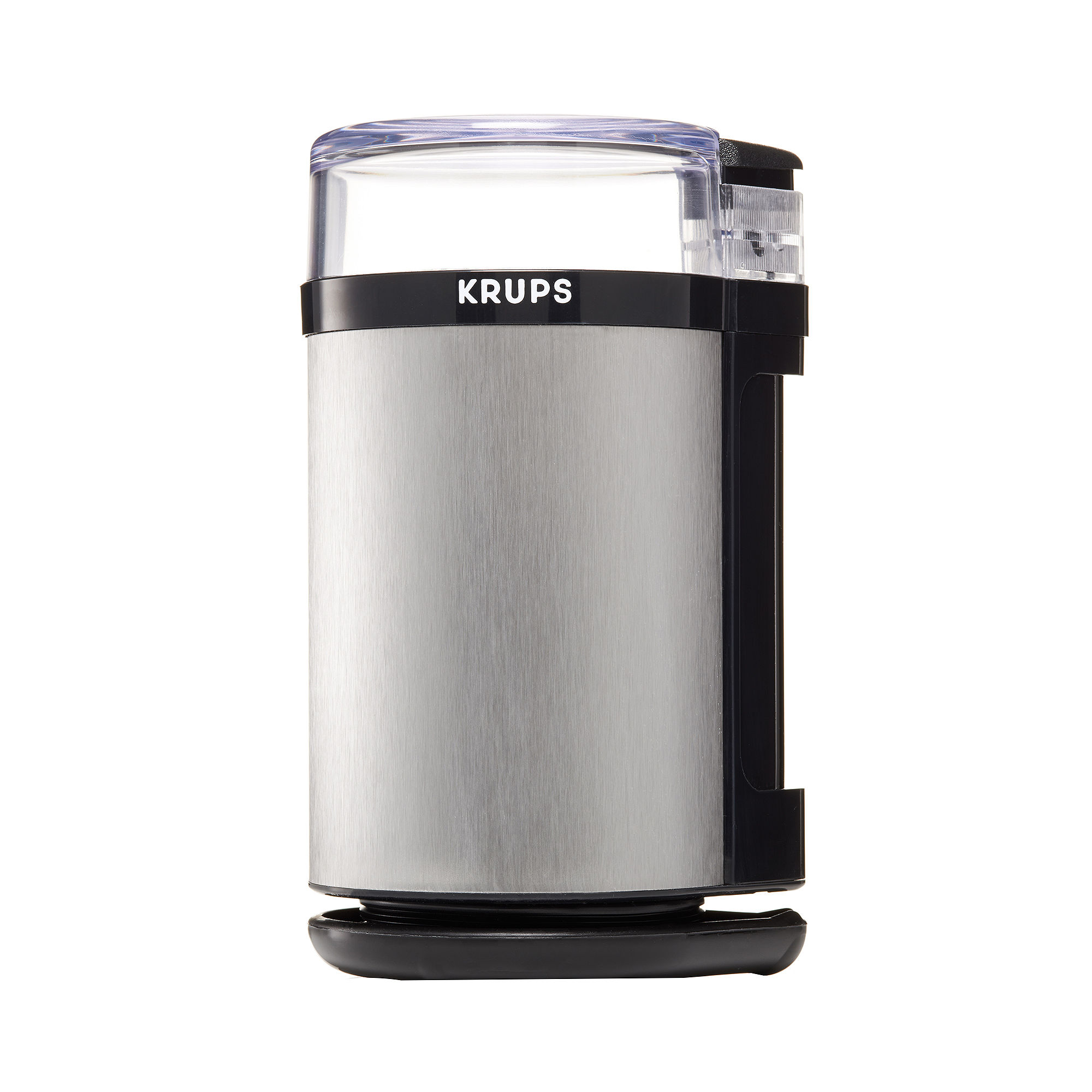 Krups F203 Electric Spice and Coffee Grinder with Stainless Steel Blades - Black