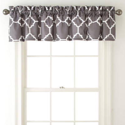 Home Expressions Tiles Rod-Pocket Valance