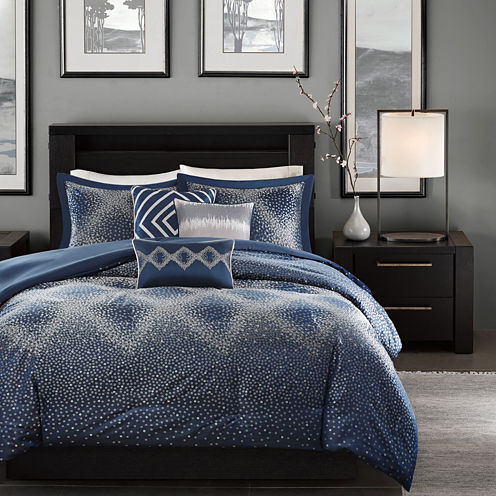 Madison Park Landon 6-pc. Duvet Set