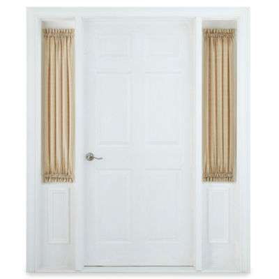 Royal Velvet Rod-Pocket Sidelight Curtain