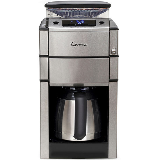 Capresso® CoffeeTEAM PRO Therm Coffee Grinder & Maker