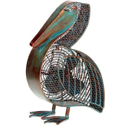 Deco Breeze® Pelican Shaped Decorative Figurine Fan