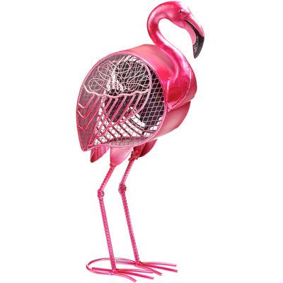 Deco Breeze® Flamingo Shaped Decorative Figurine Fan