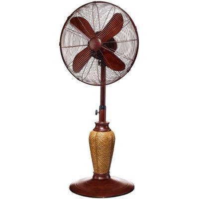 """Deco Breeze® 18"""" Kailua Deco Adjustable Outdoor Standing Fan"""