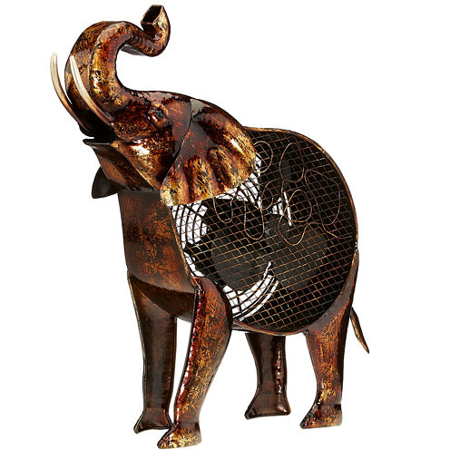 Deco Breeze African Elephant Figurine Fan