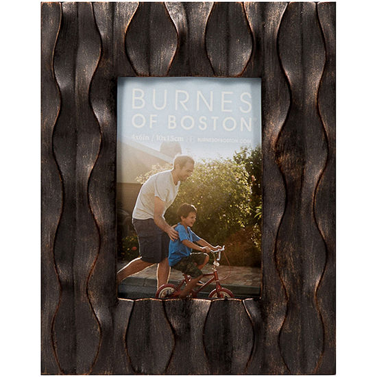 Distressed Wavy 4x6 Picture Frame