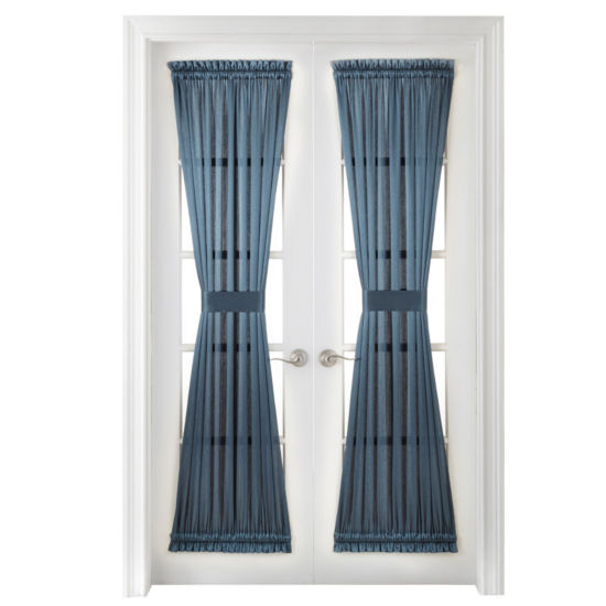 Royal Velvet Hilton Rod-Pocket Door Panel Curtain