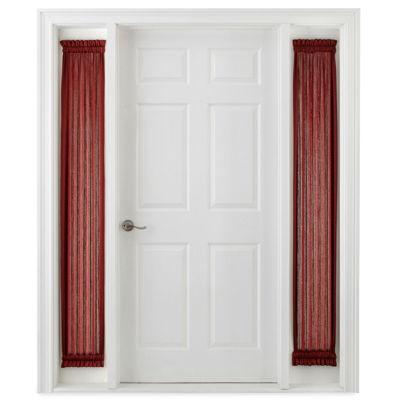 Royal Velvet Hilton Rod-Pocket Sidelight Curtain