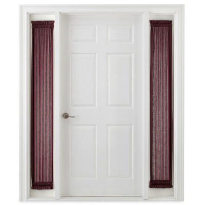 Royal Velvet Hilton Rod-Pocket Sidelight Curtain